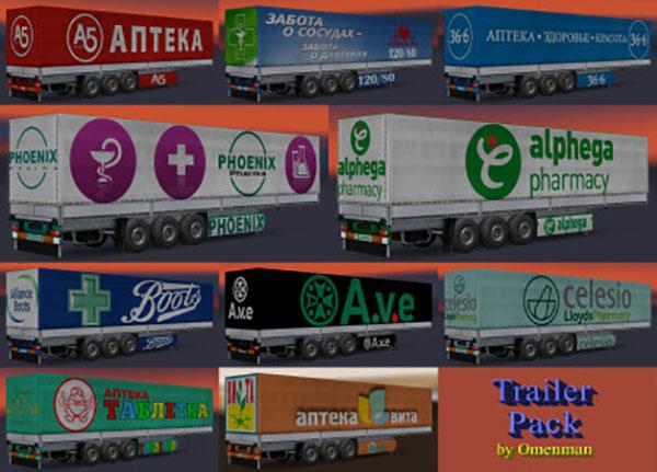 Trailer Pack Pharmacy Chains 1.0