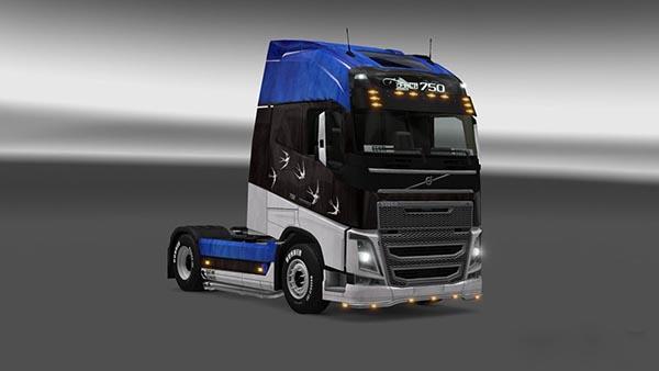 Volvo FH 2012 Estonian Skin