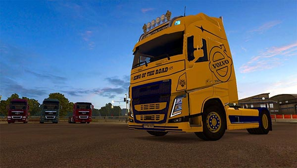 Volvo FH 2013 Ohaha King Of The Road Skin