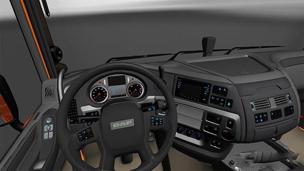Daf E66 Grey Interior