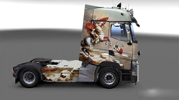 Renault Range T RTA French Paint Job 2