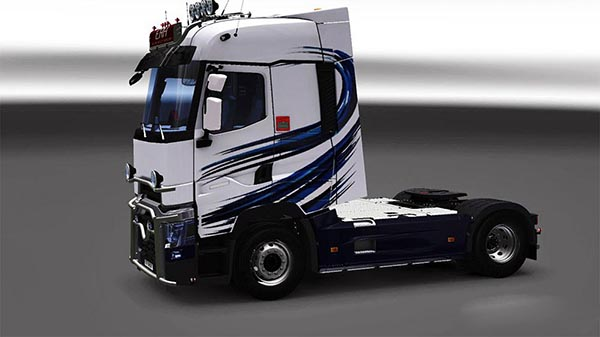 Renault Range T RTA Pellet Moine Skin