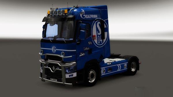 Renault Range T RTA Schalke 04 Skin