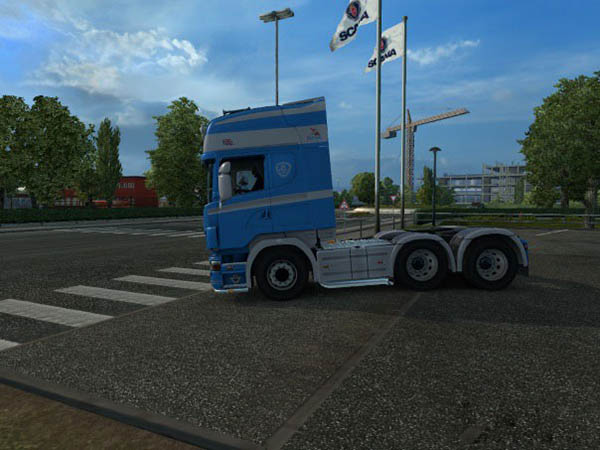 Scania 50K Skin