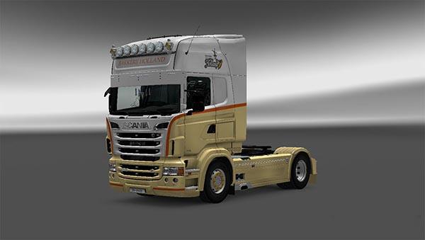 Scania RJL Bakkerij Holland Skin