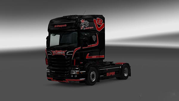 Scania RJL DS Transporte Skin