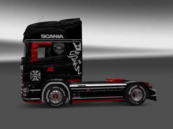 Scania RJL R Individual Stripes Skin