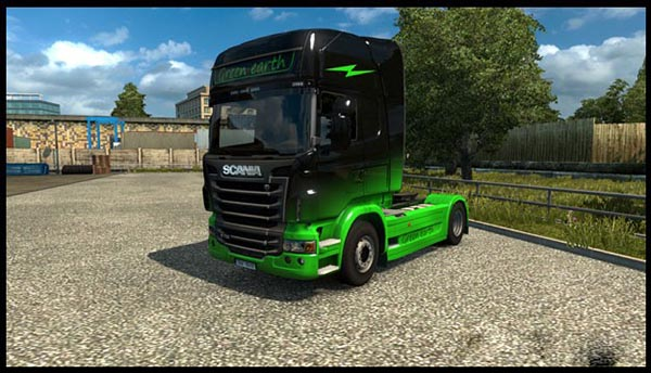 Scania RS Green Earth Skin