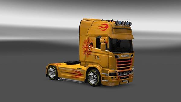 Scania Streamline SD5 Skin
