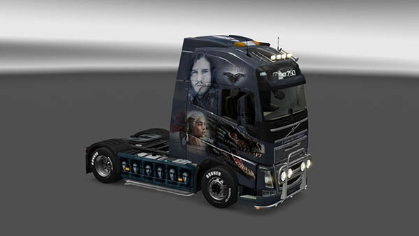 Volvo FH 2012 Game of Thrones Skin