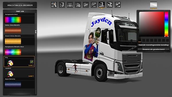 Volvo FH 2012 Jayden Skin