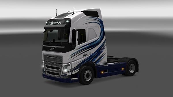 Volvo FH 2013 Pellet Moine Skin