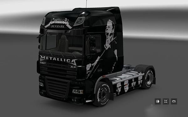 DAF XF Metallica Skin v 2.0