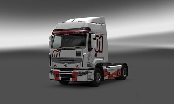 New paintjob for renault premium
