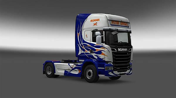 Peter Lovaas skin for Scania Streamline