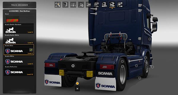 Scania Mudflap Pack v 1.1