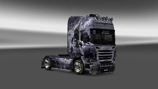 Scania R 2009 Oboroten Skin