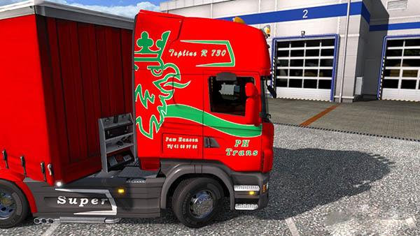Scania R Frode Laursen Skin