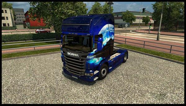 Scania R Streamline Night Skin