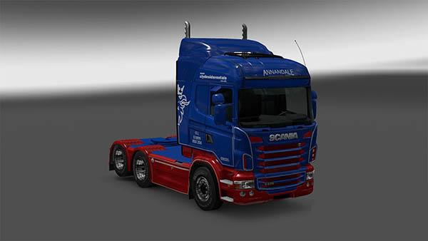 Scania R&S ANNANDAIL skin