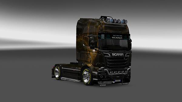Scania Streamline Fantastic Landscape Skin v 4.0