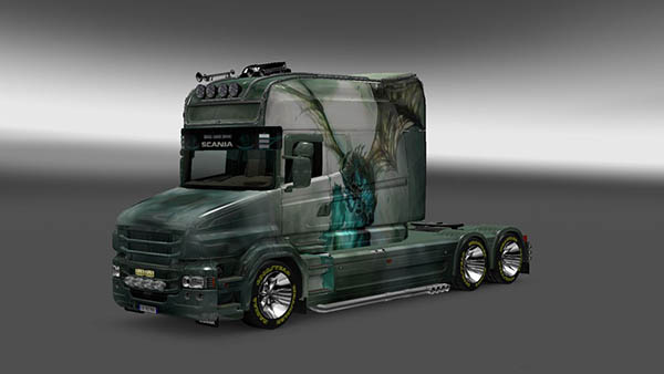 Scania T Longline Dracon Skin v 1.0