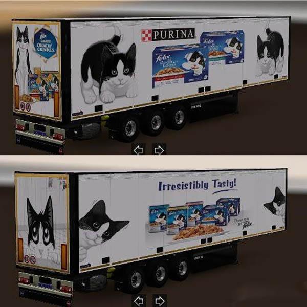 Schmitz trailer pet food