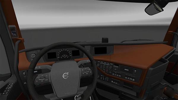 Volvo 2012 Brown Interior