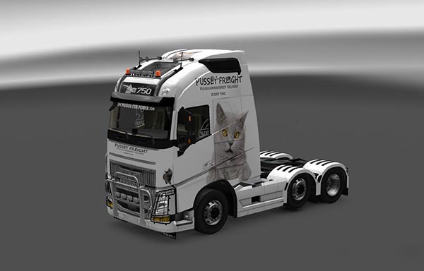 Volvo FH16 2013 Ohaha Pussey Freight Skin