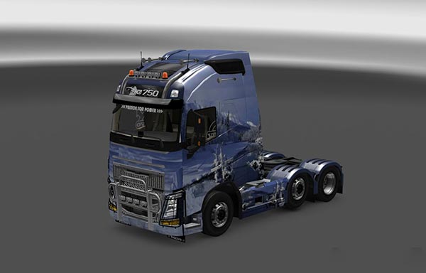 Volvo FH16 2013 Snow & Ice Skin