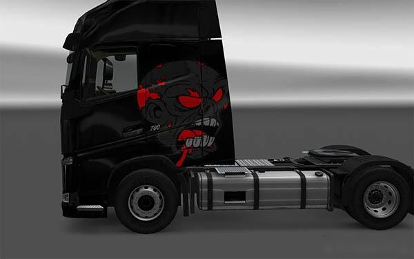 Zombie Volvo FH Skin
