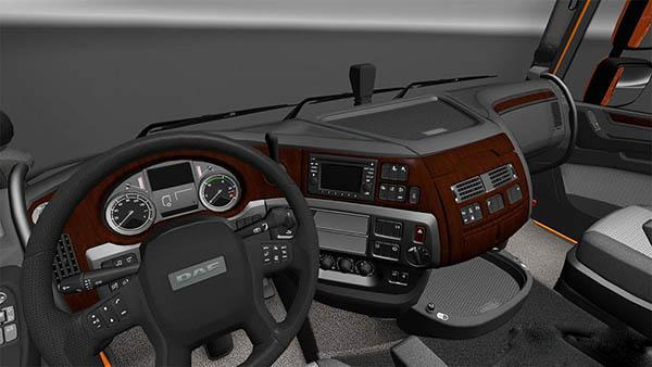 DAF E6 Wood Interior