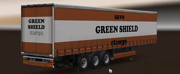 Green Shield Stamps Trailer