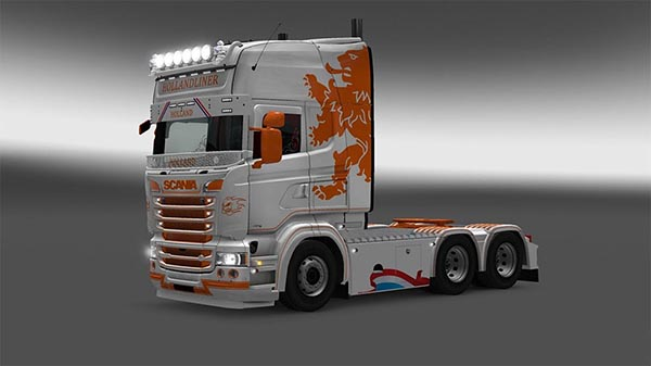 Holland Liner skin for Scania RJL