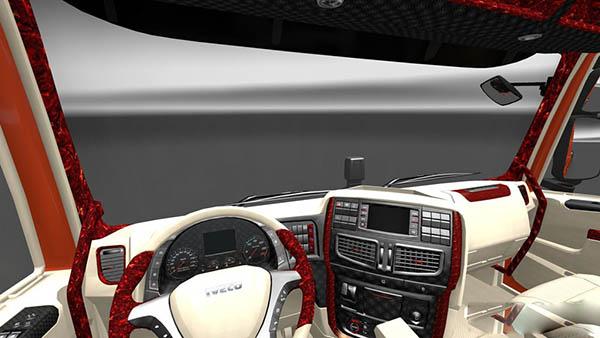 Iveco Hi Way Lux Interior