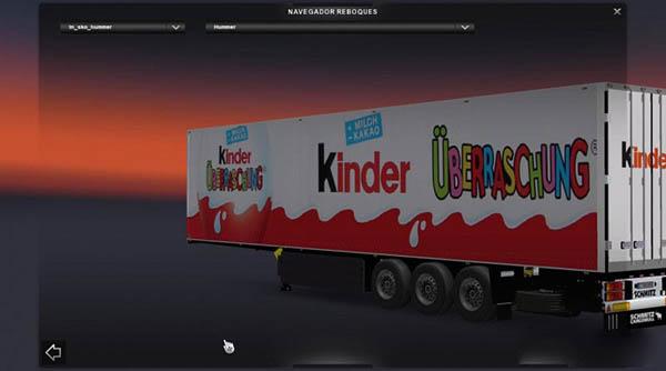 Kinder Trailer