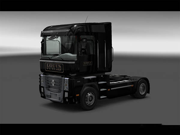 Lotus F1 Team skin for Renault Magnum