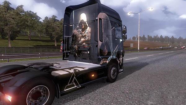 Scania Assassins Creed Skin