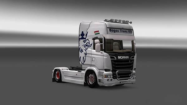 Scania Bogos Trans Kft Skin