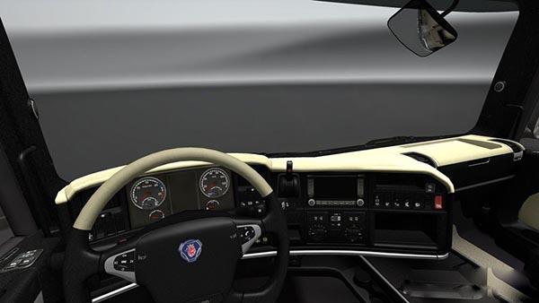 Scania R Cream Interior