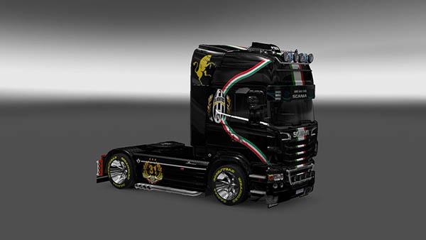 Scania R2009 Juventus Skin v 1.0