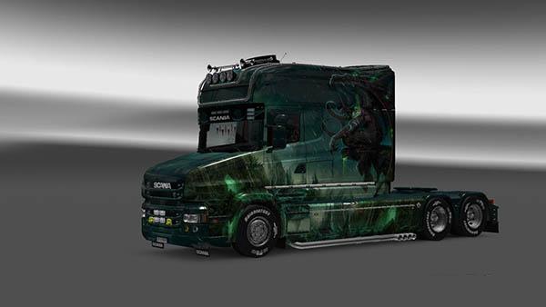 Scania T Longline Gargulia Skin