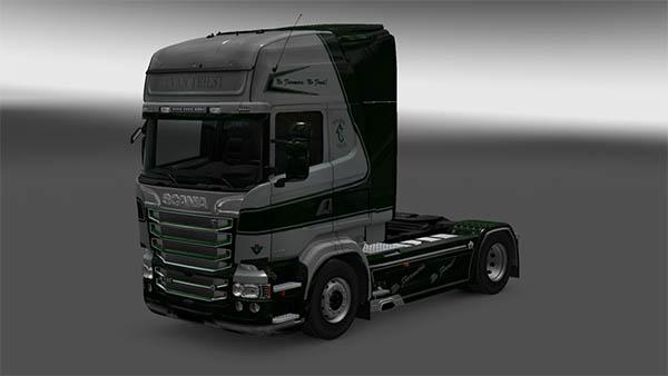 Scania Van Triest Skin Pack