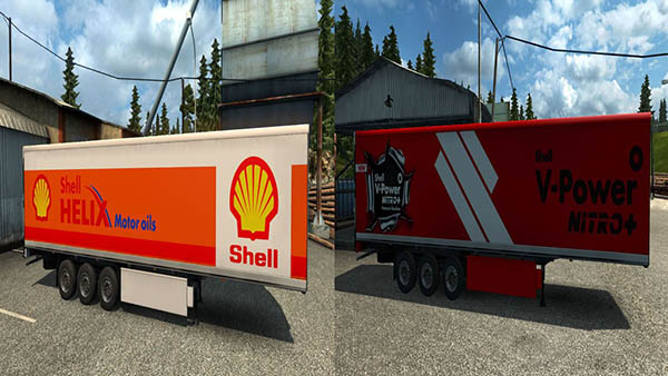 Shell Trailers Pack