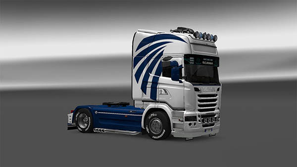 Skin Air For Scania Streamline