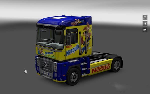 Skin Renault Magnum Nesquik