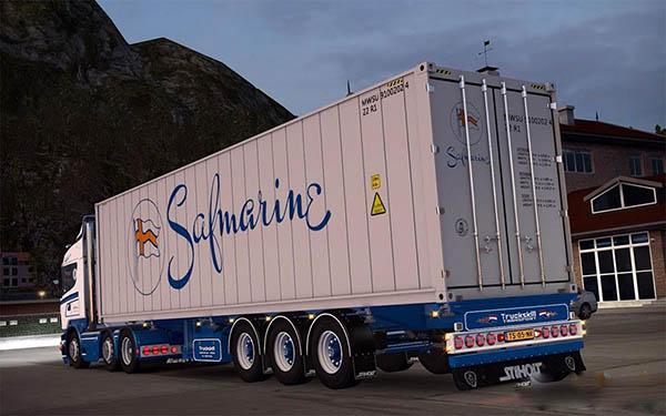 TruckSkill container trailer