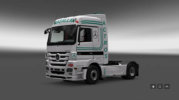 Turkis Style Special Actros MP3 Skin
