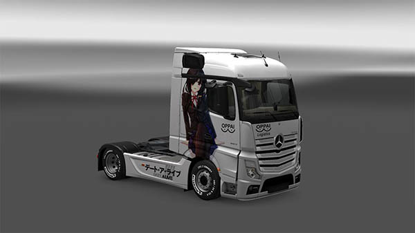 Date A Live skin for Mercedes Actros 2014