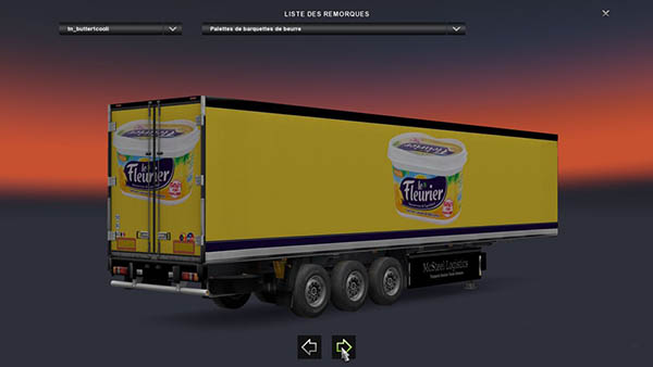 French Butter Transport Trailer